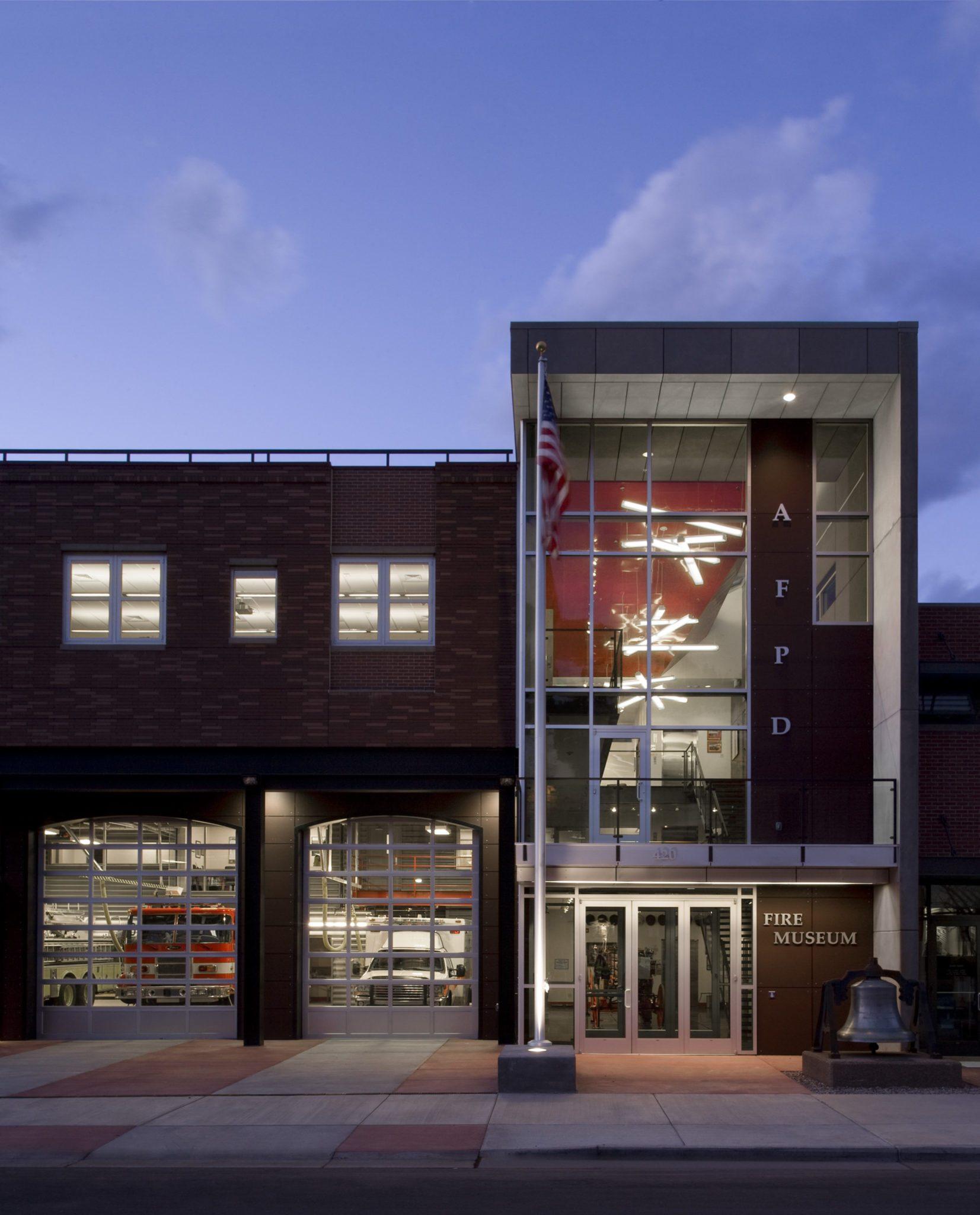Fire station museum modern architecture and design aspen colorado